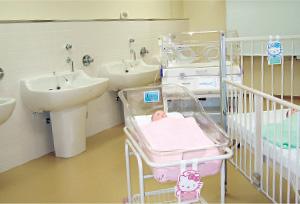 護実習室 母性・小児看護コーナー